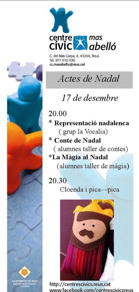 ACTE NADAL MA