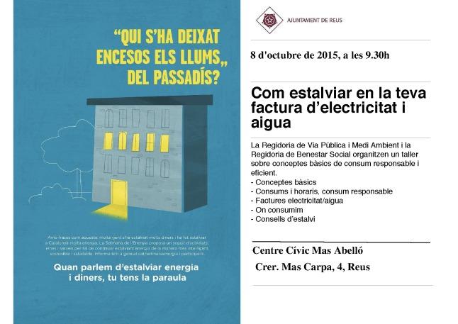 Cartell centre cívic Mas Abelló