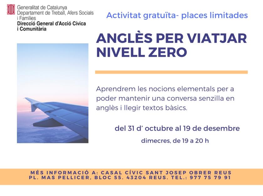 Anglès per viatjar. Nivell zero -  activitat CC Sant Josep Obrer Reus.jpg